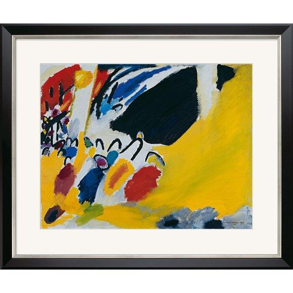 Wassily Kandinsky: Bild 'Impressionen III (Konzert)' (1911), gerahmt