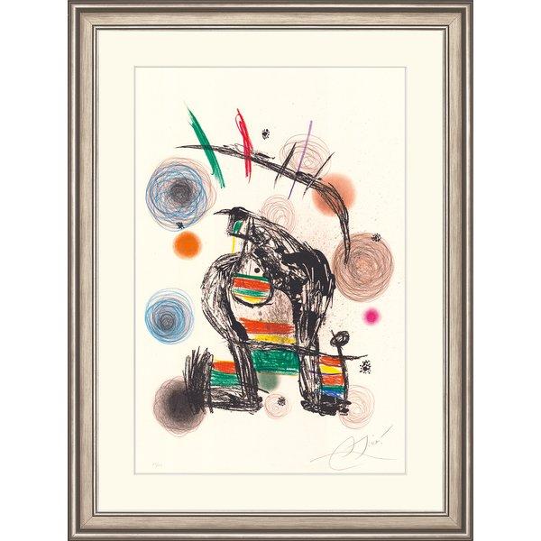 Joan Miró: Bild 'Ball de Bastons', gerahmt