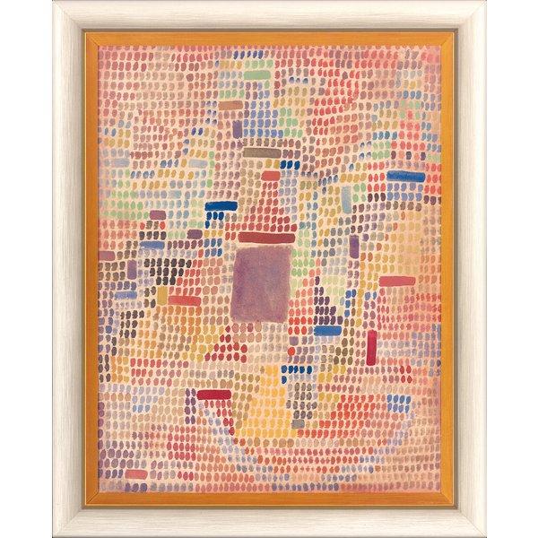 Paul Klee: Bild 'Mit dem Eingang' (1931), gerahmt