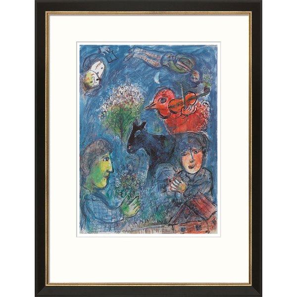 Marc Chagall: Bild 'L'été', gerahmt
