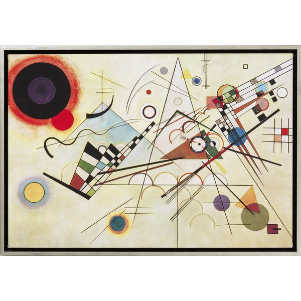 Wassily Kandinsky: Bild 'Komposition VIII' (1923), gerahmt
