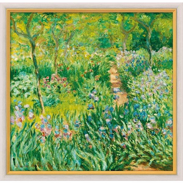 Claude Monet: Bild 'Der Frühling in Giverny' (1900), gerahmt