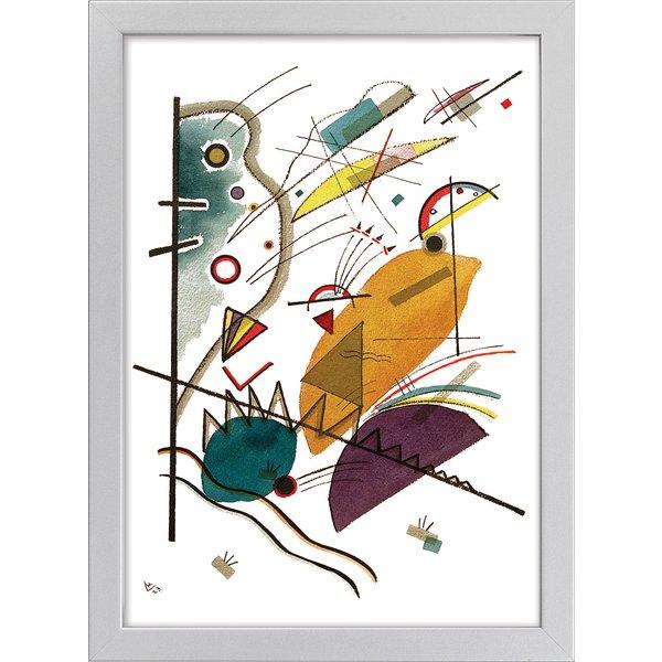 Wassily Kandinsky: Bild 'Komposition' (1923), gerahmt