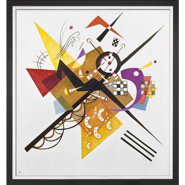 Wassily Kandinsky: Bild 'Auf Weiß II' (1923), gerahmt
