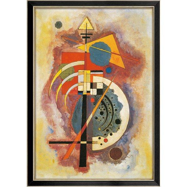 Wassily Kandinsky: Bild 'Hommage à Grohmann' (1926), gerahmt