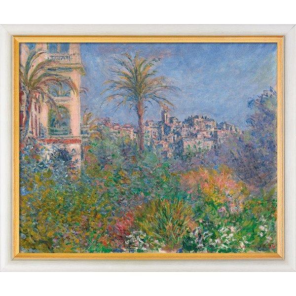 Claude Monet: Bild 'Villen in Bordighera' (1884), gerahmt