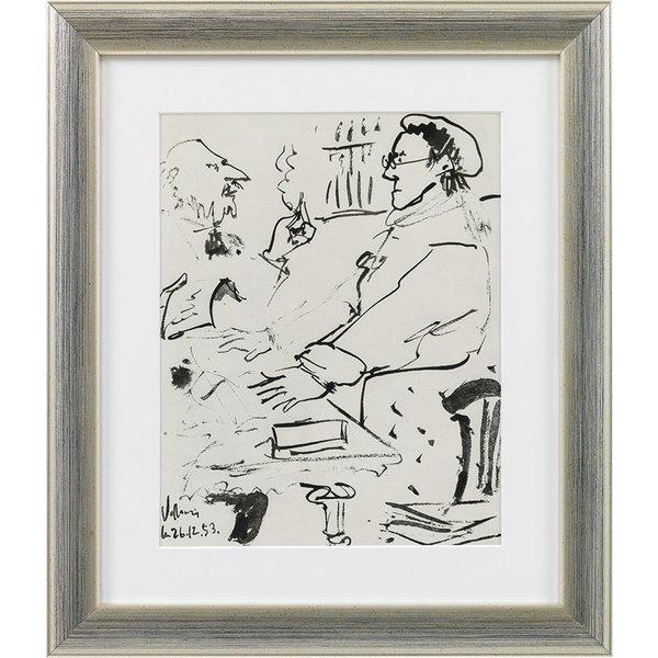 Pablo Picasso: Bild 'Ohne Titel', gerahmt
