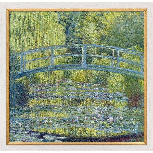 Claude Monet: Bild 'Der Seerosenteich' (1899), gerahmt