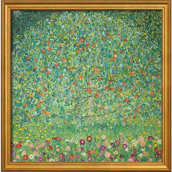 Gustav Klimt: Bild 'Apfelbaum I' (1912), gerahmt