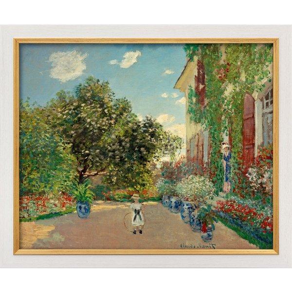 Claude Monet: Bild 'La maison de l'artiste à Argenteuil (Das Haus des Künstlers in Argenteuil)' (187