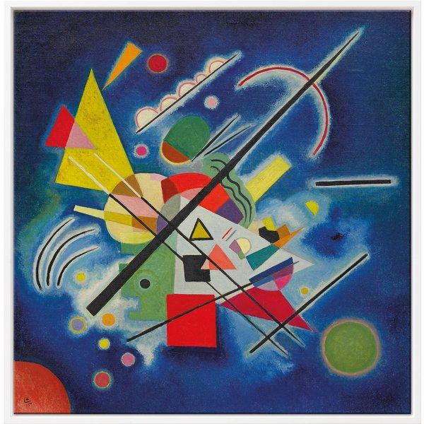 Wassily Kandinsky: Bild 'Blaues Bild' (1924), gerahmt