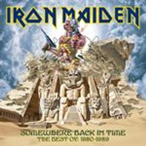 Iron Maiden - Somewhere Back In Time: The Best Of 1980-1989 - CD
