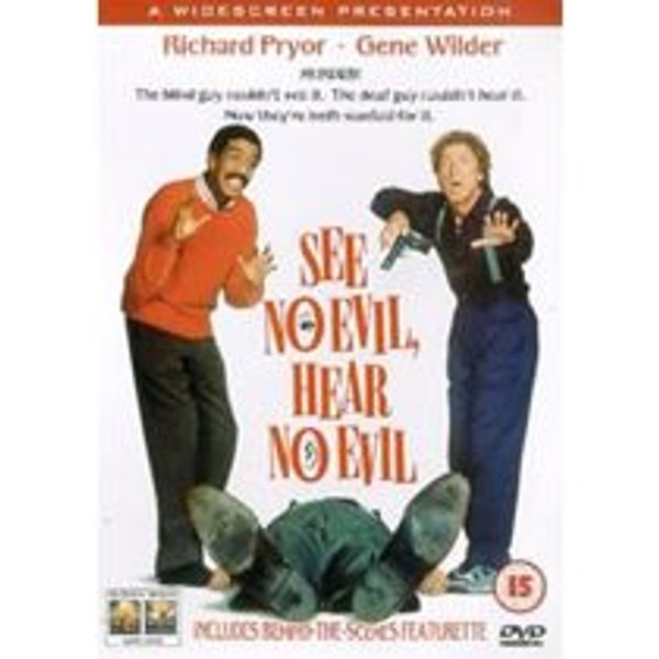 See No Evil Hear No Evil DVD