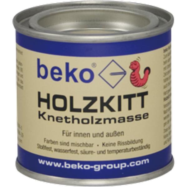 buche-dunkel  beko Holzkitt Knetholzmasse 110g