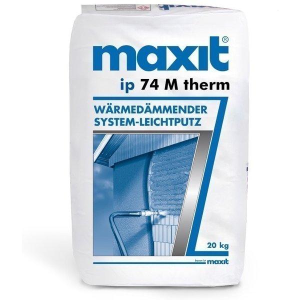 20 kg maxit ip 74 M therm - Wärmedämmender System-Leichtputz - 20kg