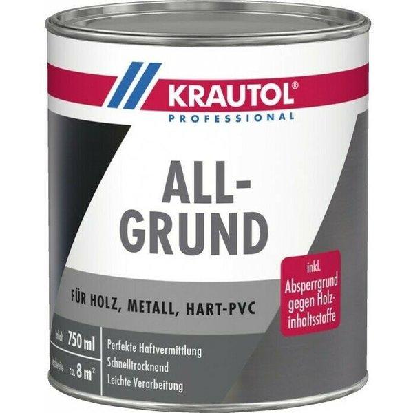 weiss 750 ml KRAUTOL ALLGRUND   Acrylgrundierung - 750ml - weiss