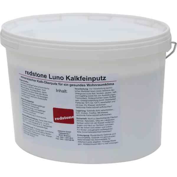 5 kg redstone Luno Kalkfeinputz - 5kg