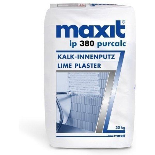 maxit ip 380 purcalc - Kalk-Grundputz für Innen - 30kg