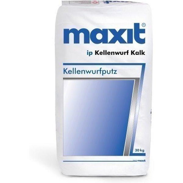 maxit ip Kellenwurf Kalk - Kellenwurfputz, weiß - 30kg