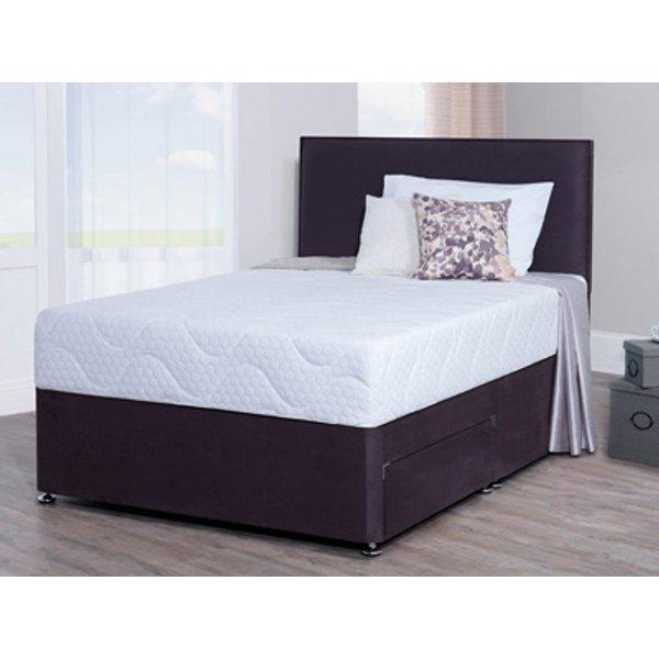 Giltedge Beds Aloe Vera 4FT 6 Double Divan Bed