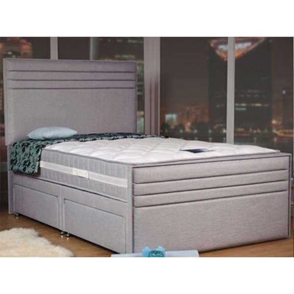 Sweet Dreams Style Chic 6FT Superking Fabric Divan Frame