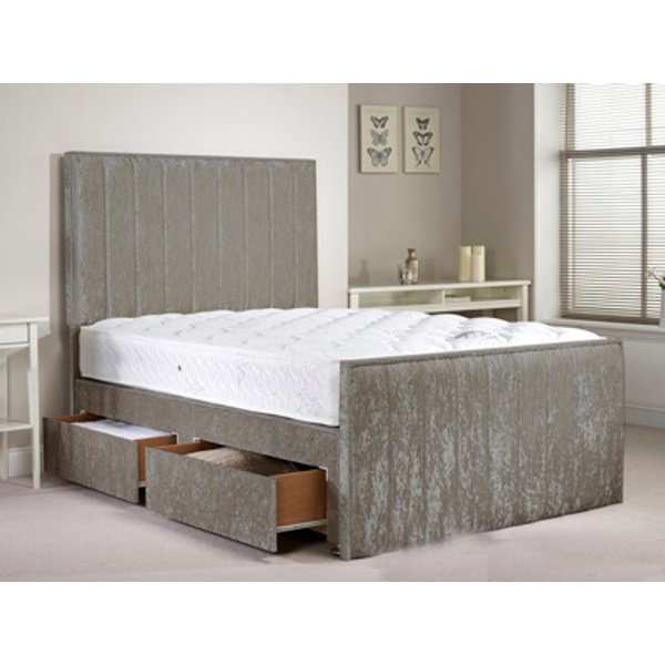 Aspire Furniture Hampshire 4FT 6 Double Fabric Bedframe