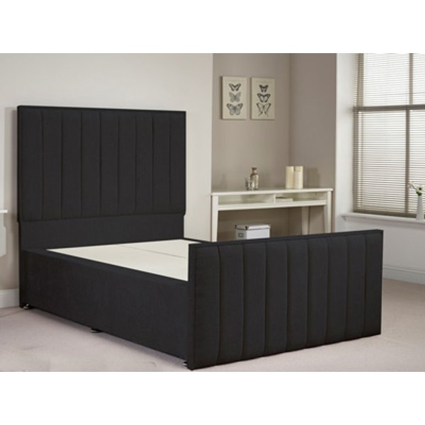 Aspire Furniture Hampstead 5FT Kingsize Fabric Bedframe
