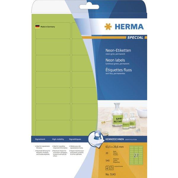 240 HERMA Etiketten 5153 orange