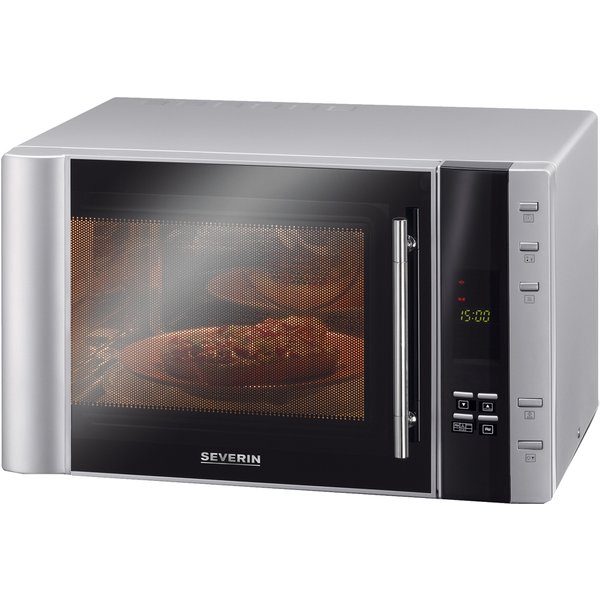 SEVERIN MW 7825 - Micro-ondes avec grill (Argent)