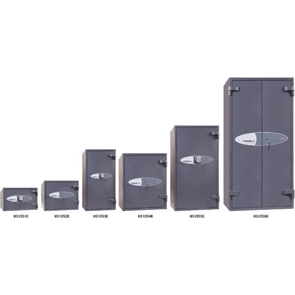 Phoenix Neptune HS1054K Size 4 High Security Euro Grade 1 Safe with