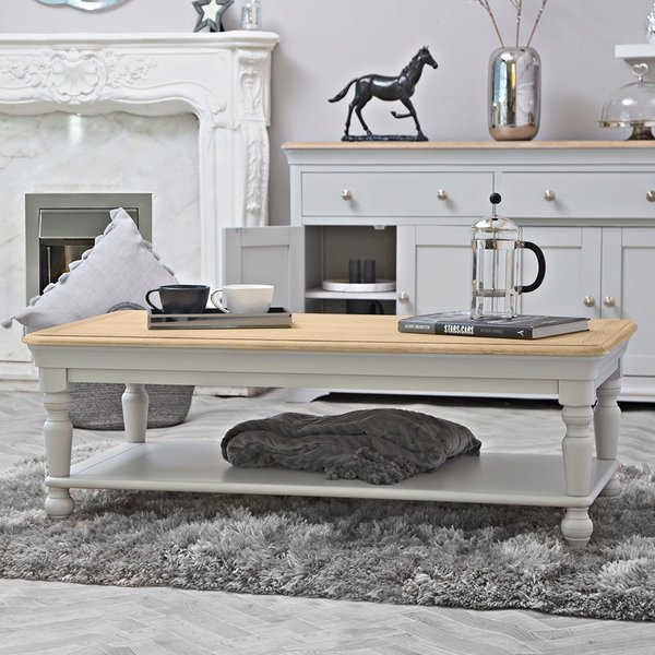 Ashbourne Grey Painted Large Coffee Table