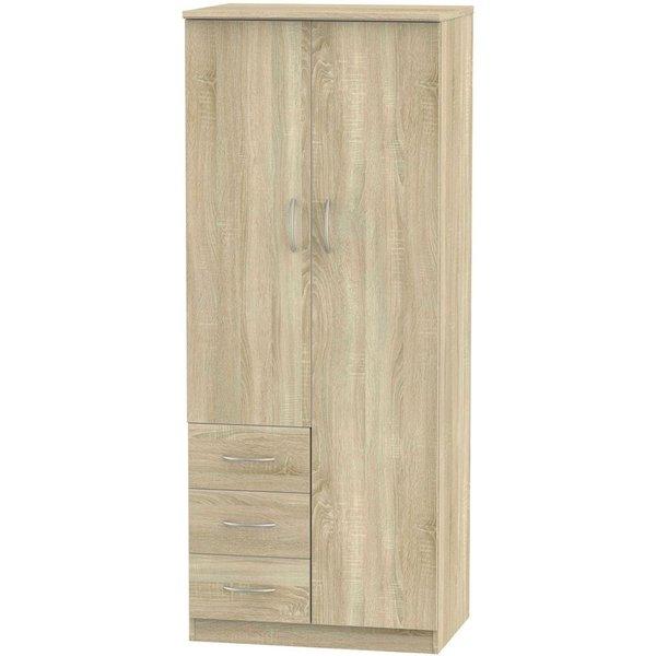 Avon Bardolino 2 Door 3 Drawer Wardrobe