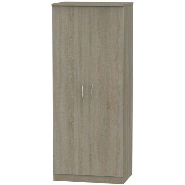 Avon Darkolino 2 Door Wardrobe