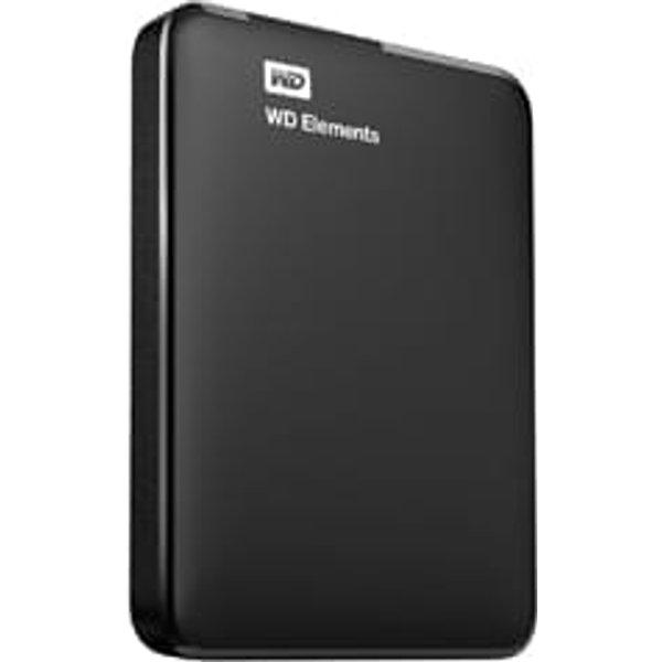 WESTERN DIGITAL Elements Portable - Disque dur (2 TB, Noir)