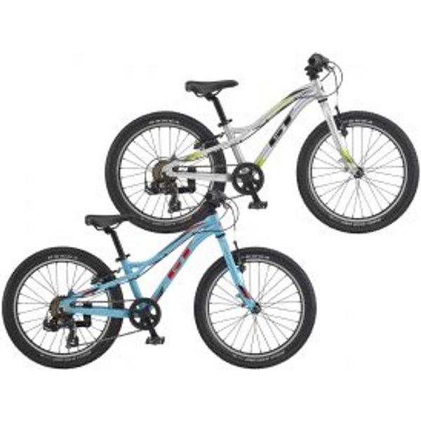 GT Stomper Ace 20 Kids Bike 2020 - Gloss Silver - Black - 20