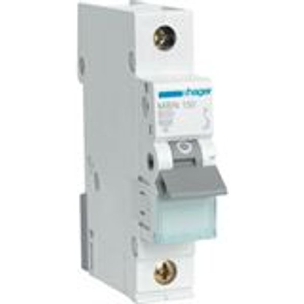 Hager Leitungsschutzschalter B 50A 1p 415V 6kA 1TE AC 50Hz Zusatzeinrichtungen möglich