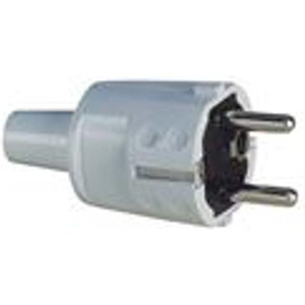 ABL SURSUM Schutzkontakt-Stecker PVC weiß 1418080