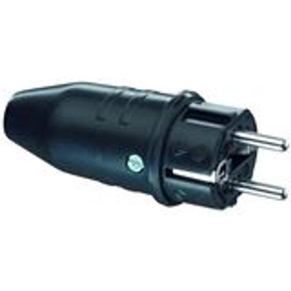 ABL SURSUM Gummi-Stecker sw IP44 + Hammerzeichen 1149190