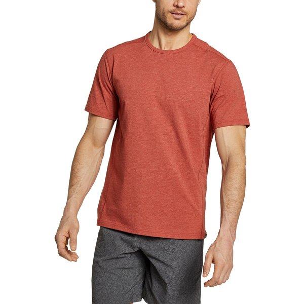 Artikel klicken und genauer betrachten! - Adventurer T-Shirt Herren Braun Gr. S T-Shirt mit natürlicher, atmungsaktiver Baumwolle, gemischt mit Seawool-Polyester, das aus recycelten Plastikflaschen und Austernschalenpulver hergestellt wird. Zusätzlich verfügt das Rundhalsshirt über Technologien zur Feuchtigkeitsableitung, zum Sonnenschutz und zur Geruchskontrolle. | im Online Shop kaufen
