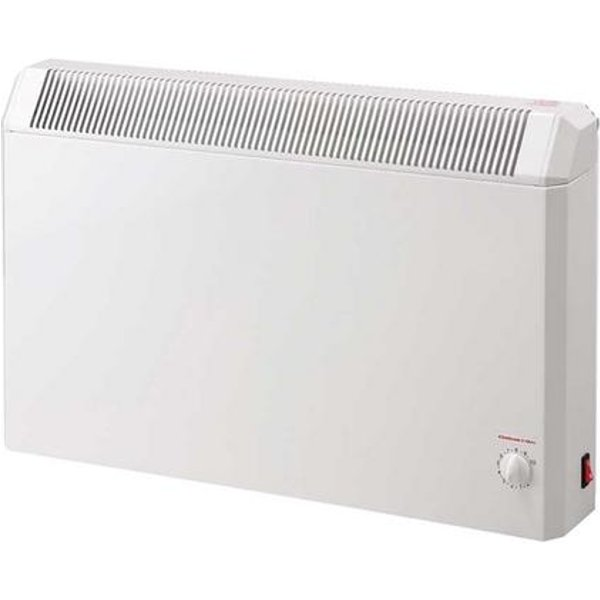 18. Elnur 0.75kW White Manual Electric Panel Heater with Analogue Control: £88.14, Electrical Europe