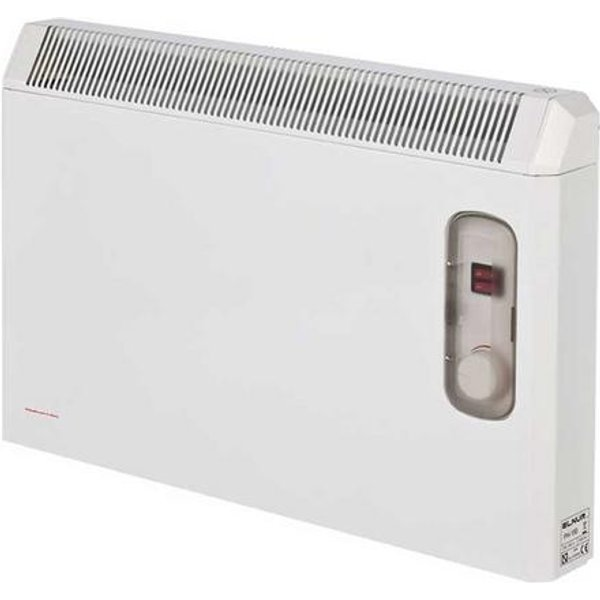 15. Elnur 1.5kW White Manual Electric Panel Heater with Enclosed Analogue Control: £108.07, Electrical Europe