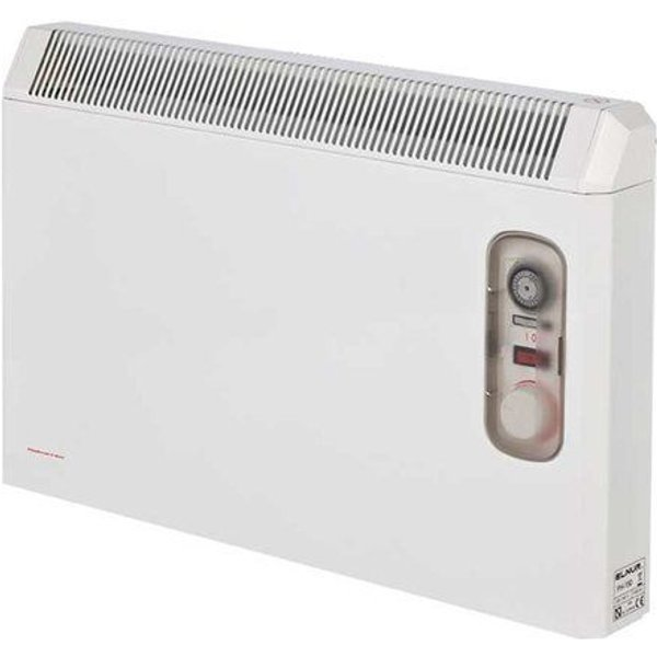 14. Elnur 1.5kW White Manual Electric Panel Heater 24 Hour Timer & Enclosed Analogue Control: £102.34, Electrical Europe