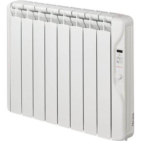 13. Elnur 1kW 24 Hour Digital 8 Module Oil Filled Electric Panel Radiator Heater: £286.61, Electrical Europe