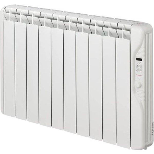 12. Elnur 1.25kW 24 Hour Digital 10 Module Oil Filled Electric Panel Radiator Heater: £335.26, Electrical Europe