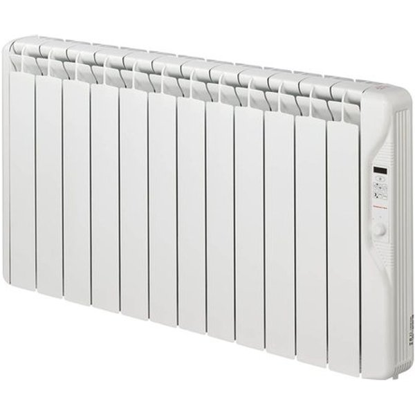 11. Elnur 1.5kW 24 Hour Digital 12 Module Oil Filled Electric Panel Radiator Heater: £378.81, Electrical Europe
