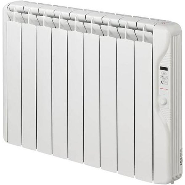 9. Elnur 1kW Small 24 Hour Digital 9 Module Oil Filled Electric Panel Radiator Heater: £306, Electrical Europe