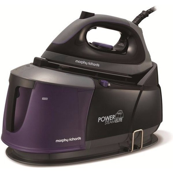 21. Morphy Richards Purple Power Elite Steam Generator Iron: £140.92, Electrical Europe