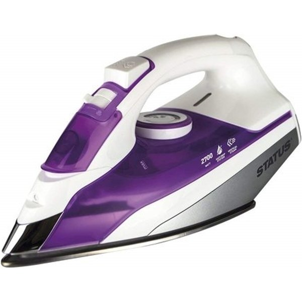 6. Status 2700W Steam Iron - Purple: £21.26, Electrical Europe