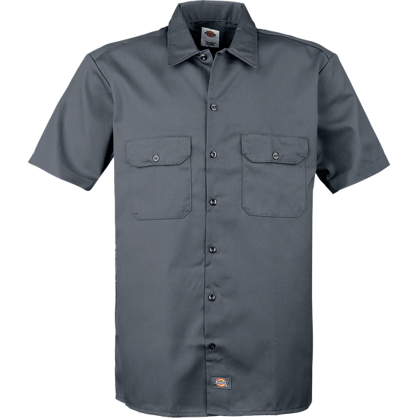 Dickies Chemise À Manches Courtes Work Chemise anthracite