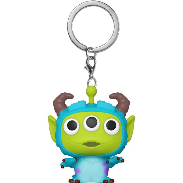 Disney Pixar Alien as Sulley Pop! Keychain